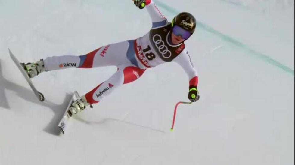 Mondiali di Are, la discesa di Lara Gut-Behrami (10.02.2019)