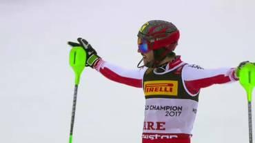 Mondiali di Are, la seconda manche di Marcel Hirscher (17.02.2019)