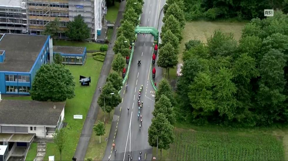 Tour de Suisse, l'ultimo chilometro della 6a tappa (18.06.2015)