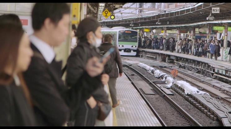 Giappone, si vola sui binari