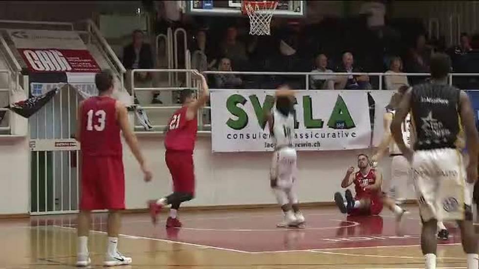 Basket, il servizio su Lugano - Swiss Central (Sportsera, 07.10.2017)
