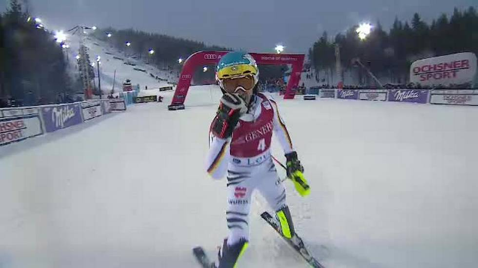 Slalom di Levi, la seconda manche di Felix Neureuther (12.11.2017)