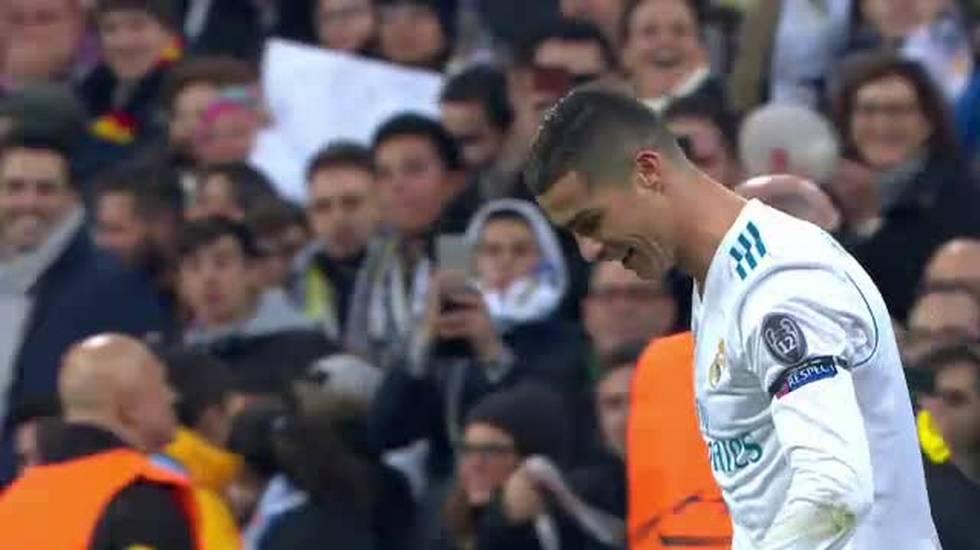 CL, il 2-0 di Cristiano Ronaldo in Real Madrid - Borussia Dortmund (06.12.2017)