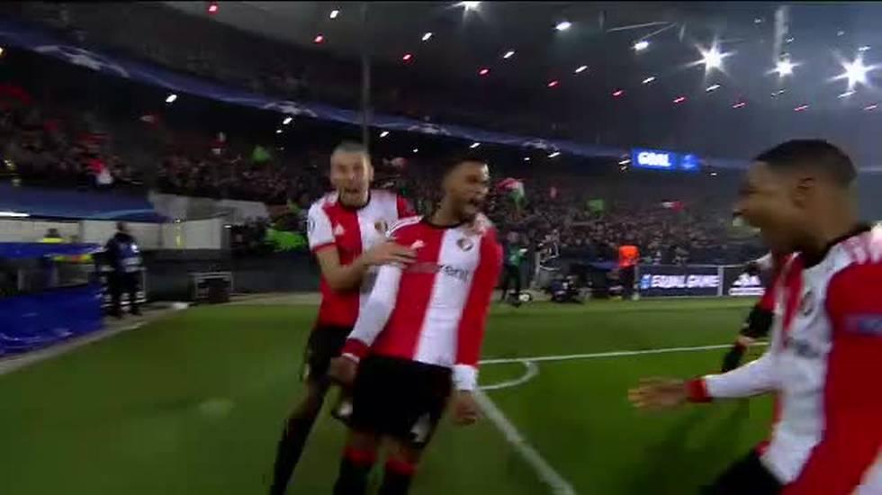 CL, highlights di Feyenoord - Napoli (06.12.2017)