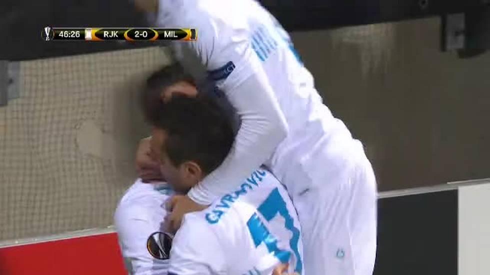EL, il gol di Mario Gavranovic (07.12.2017)