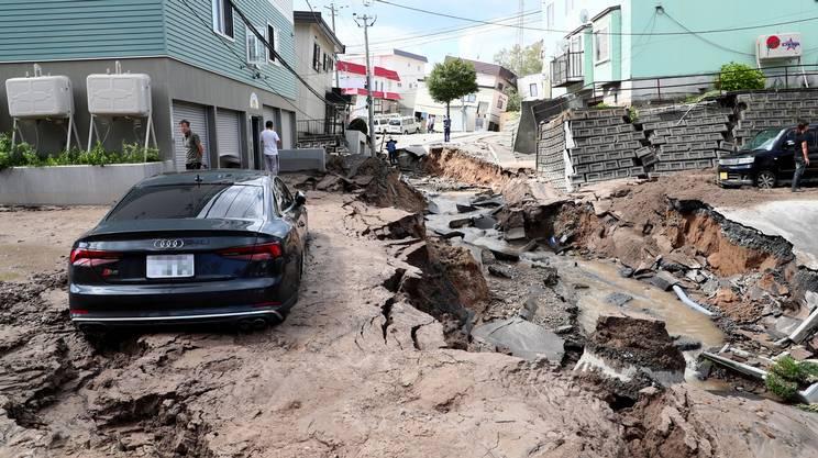 Si sono verificati numerosi crolli e smottamenti del terreno