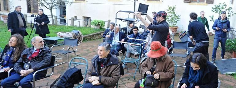 A Firenze la gente ha preferito abbandonare le proprie abitazioni