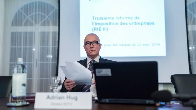 Adrian Hug, il direttore dell'Amministrazione federale delle contribuzioni