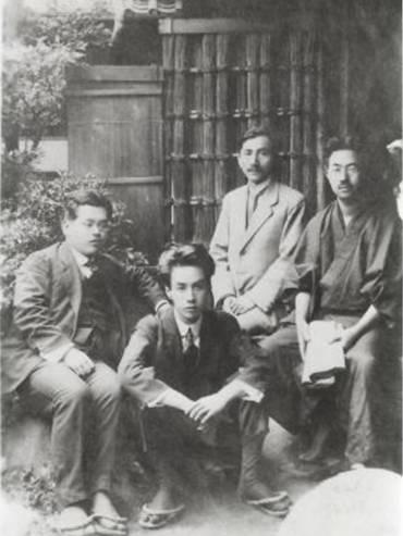 Akutagawa e compagni, maggio 1919