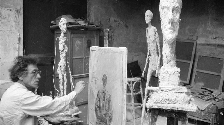 Giacometti irrequieto sul grande schermo