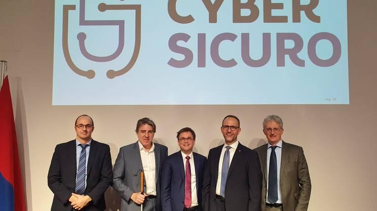 Alessandro Trivilini, Manuele Bertoli, Christian Vitta, Norman Gobbi e Luca Filippini
