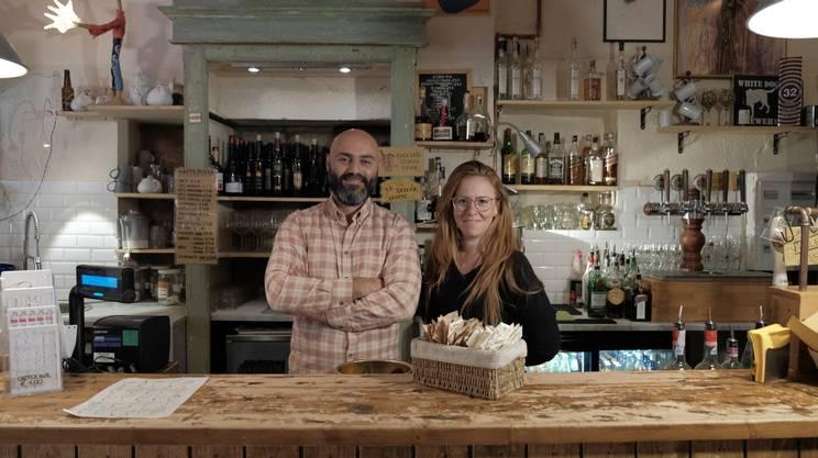 Alfodo Marrazzo e Sara Longhi, ideatori e anima del Caffè Senza Nome