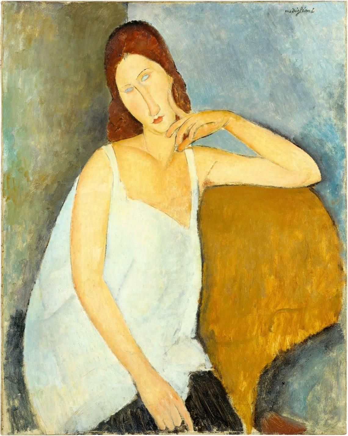 Amedeo Modigliani, Jeanne Hébuterne, 1919