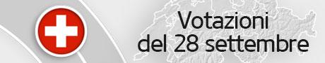 Votazioni del 28 settembre