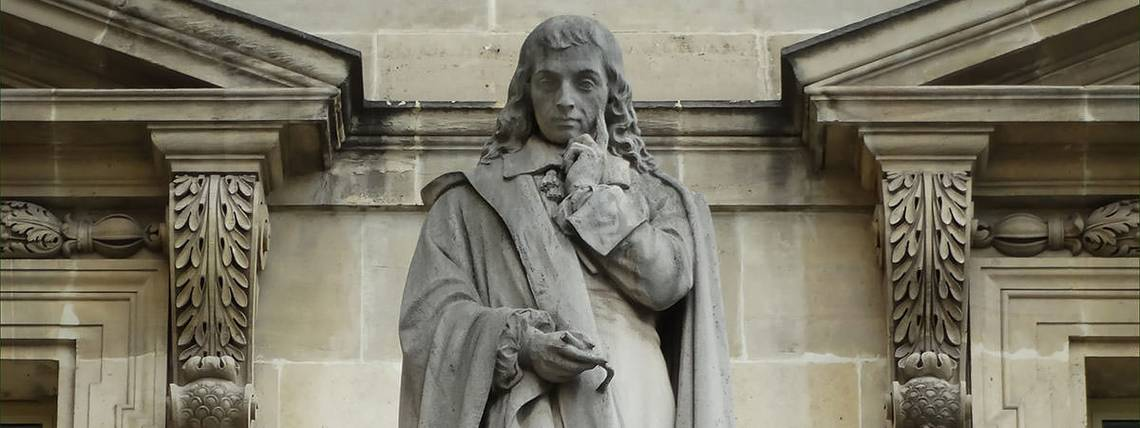 Statua di Blaise Pascal (Parigi, Louvre)