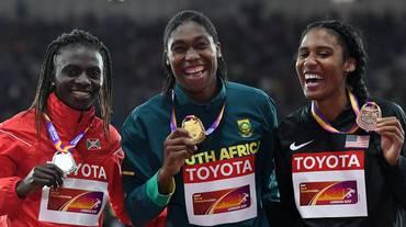 Caster Semenya denuncia la IAAF