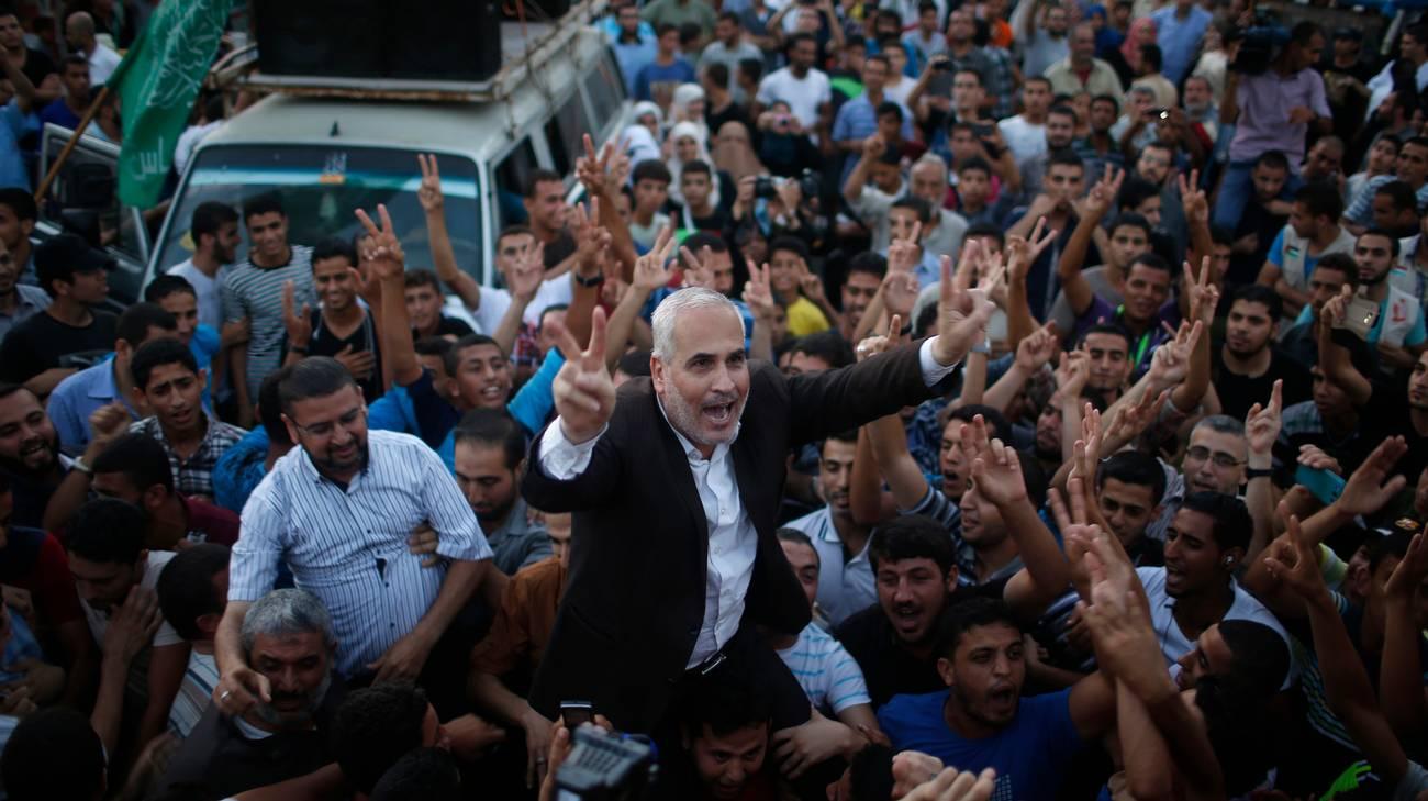 Festeggiamenti a Gaza