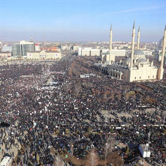 Grozny occupata dai manifestanti