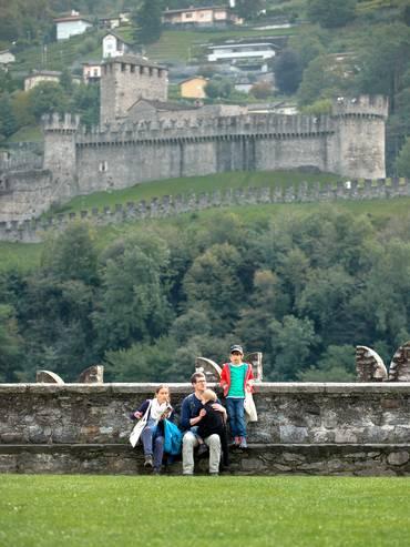 I Castelli di Bellinzona: incremento dell'affluenza dell'8%