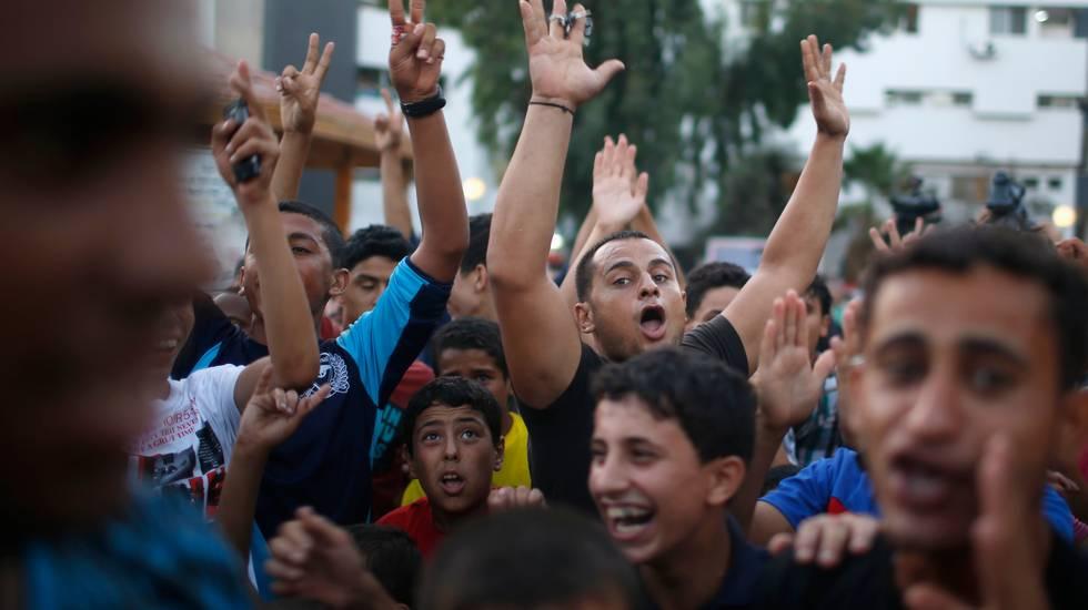 A Gaza si festeggia il cessate il fuoco