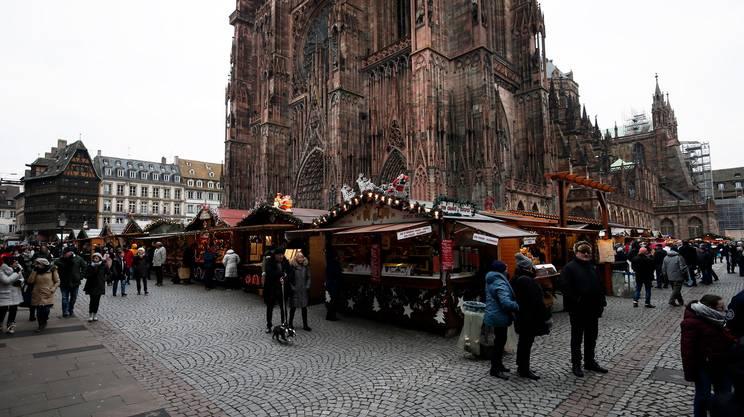 I luoghi dell'attentato nel centro di Strasbrgo