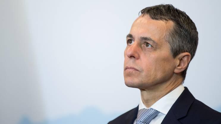 Il Consigliere federale Ignazio Cassis