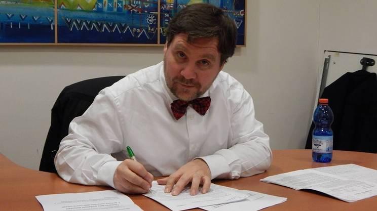 Il climatologo Luca Mercalli, presidente della Società meteorologica italiana