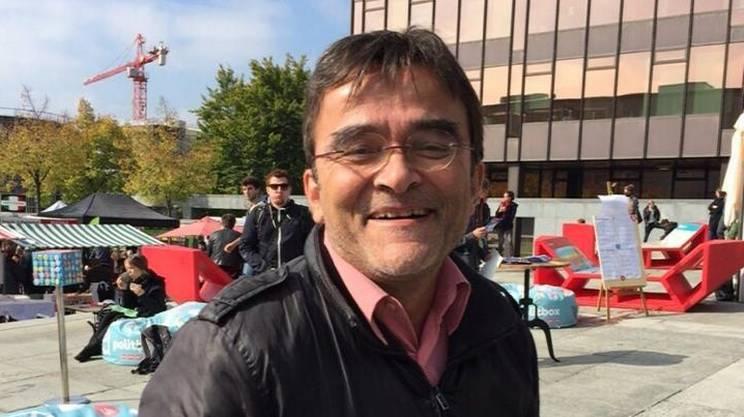 Il collega Sandro Pauli era impegnato sul posto per la RSI