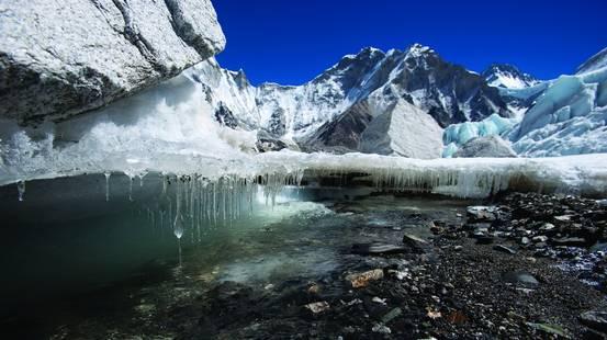 Meno ghiacciai del previsto