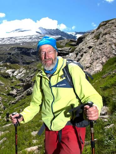 Il glaciologo Giovanni Kappenberger