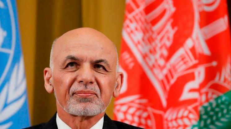Il presidente afgano Mohammad Ashraf Ghani a Ginevra