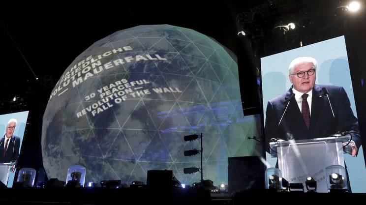 Il presidente tedesco Frank-Walter Steinmeier