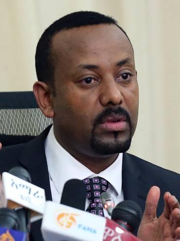 Il primo ministro Abiy Ahmed