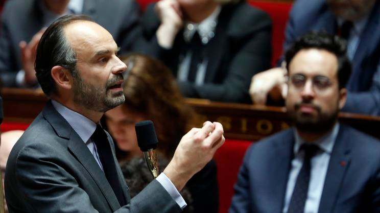 Il primo ministro Edouard Philippe