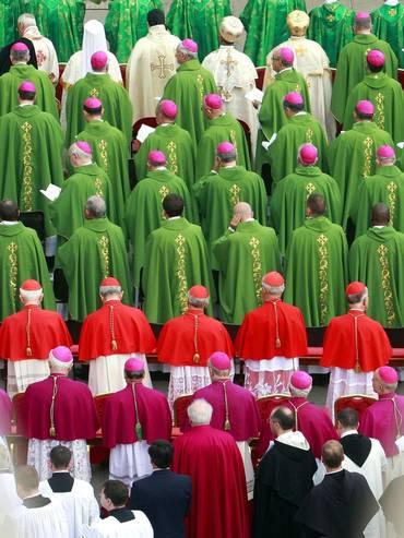 Il sinodo dei vescovi a Roma