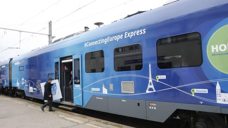Il treno speciale, partito da Lisbona a inizio settembre, arriverà fino al 7 ottobre in più di 100 città europee. Domani, seconda tappa in Svizzera fra Berna e Basilea