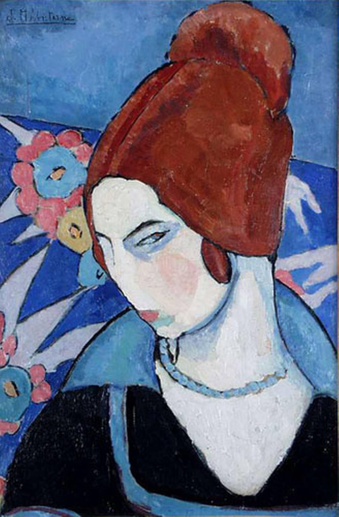 Jeanne Hébuterne, Autoritratto, 1916