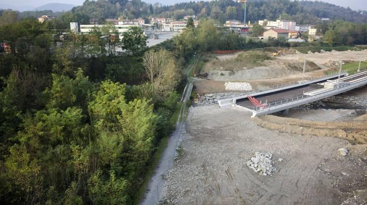 La FMV si ferma al confine, a Stabio, in zona S. Margherita - archivio