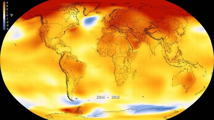 La Terra è sempre più calda