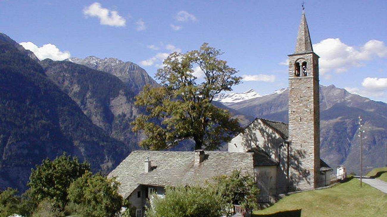 La chiesa di San Lorenzo a Sobrio
