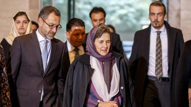 La first lady afghana Rula Ghani
