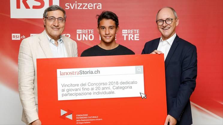 """Assegnato il premio """"lanostraStoria.ch"""""""