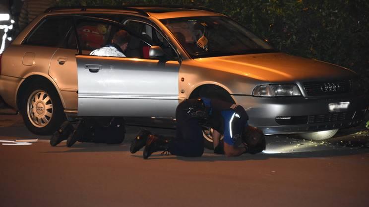 La polizia al lavoro sulle tracce