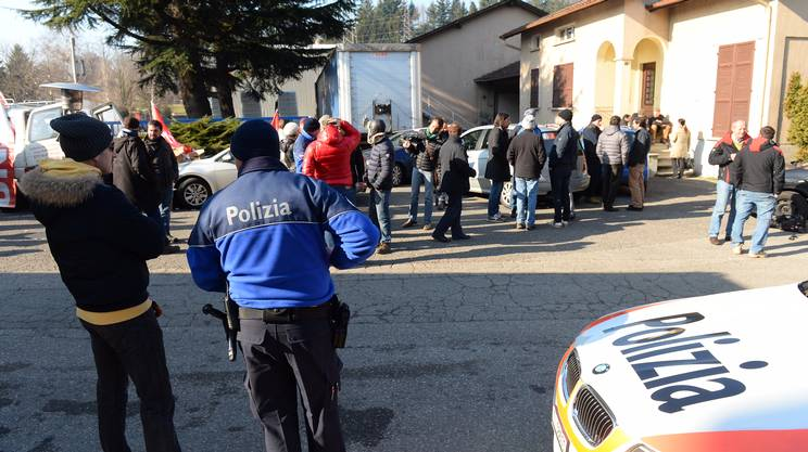 La protesta delle maestranze, giovedì a Mendrisio