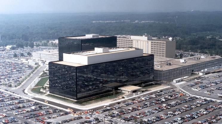 La sede della NSA nel Maryland, USA