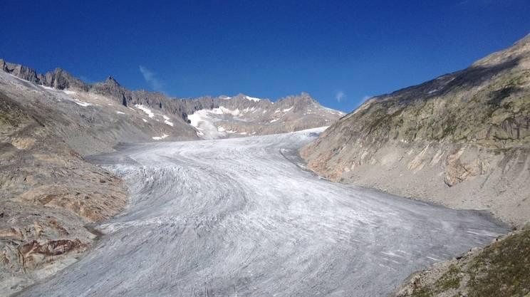 L'assottigliamento delle superfici dei ghiacciai conferma sempre di più l'impatto del riscaldamento globale