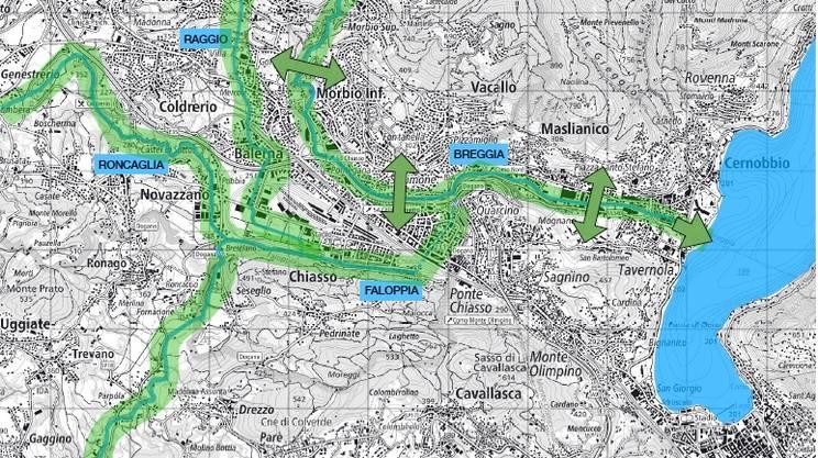 Le future aree fluviali
