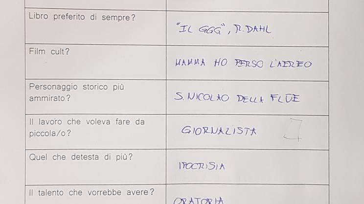 Le risposte al questionario di Marco Romano 07.10.2019
