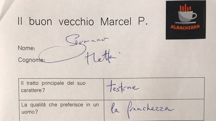 Le risposte di Germano Mattei