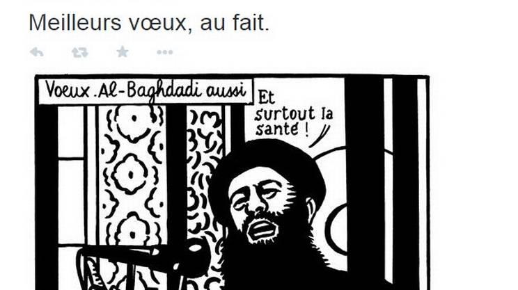 L'ultimo tweet di Charlie Hebdo